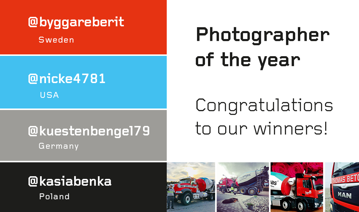 Thomas Concrete Group seenthomas photographer of the year 2018 FB winners